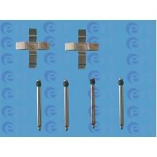Монтажный к-кт колодок задних дисковых (крест) (ERT) Opel Vectra A, B, Omega A, B, Astra F