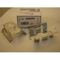 Комплектующие, колодки дискового тормоза  ERT