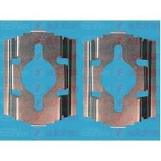 Комплектующие, колодки дискового тормоза AUTOFREN SEINSA IVECO