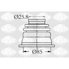 Пыльник шруса внутр. SASIC  Kangoo Л.(к-кт + подшип.) D85/d25.8